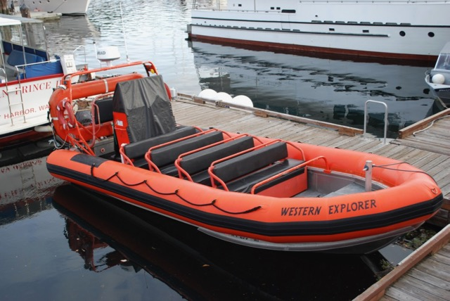 1999 Sea People 16 Passenger Inspected RIB, Twin 200 Suzuki, Trailer, $125,000