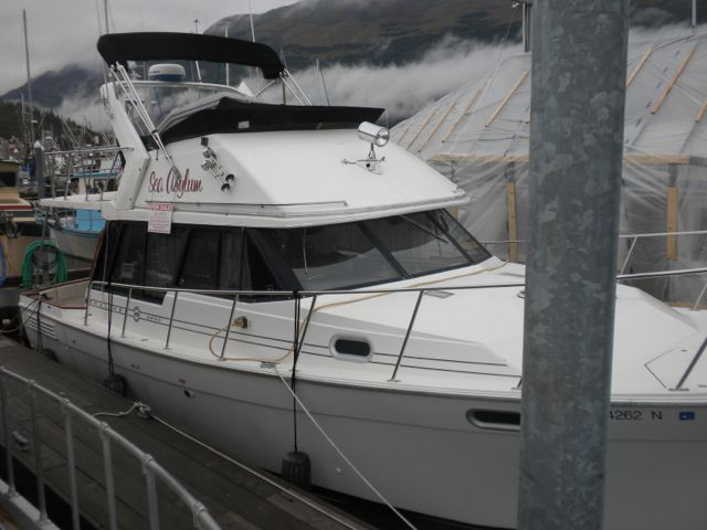 1995 Bayliner 3288, Twin 150 Hino's, Diesel Furnace, Hardtop, Inverter, Asking $40,000