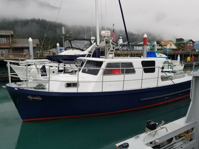REDUCED! 30' Rawson, new cored FRP house & decks, 370 HP Volvo, Dickinson stove, $65,000
